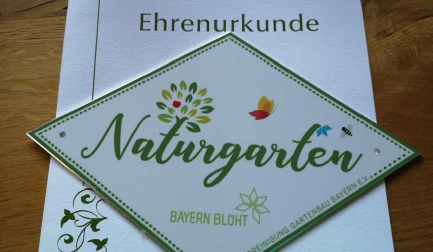 Zertifizierter Naturgarten