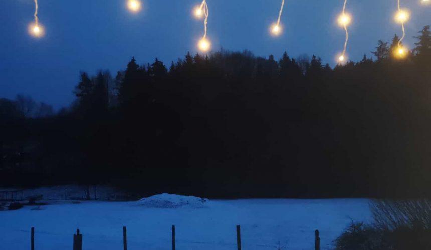 Schnee in Spiesberg