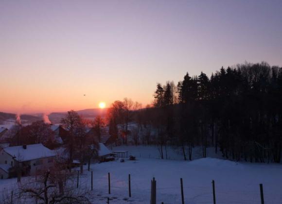 Winter auf dem Kordigast (VIDEO)